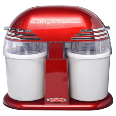 Máquina heladera 0,94 litros rojo