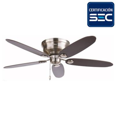 Ventilador de Techo Metal 5 aspas Low Profile