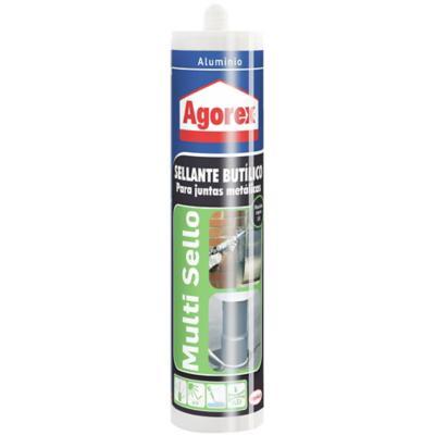 Sellador butílico 310 ml aluminio