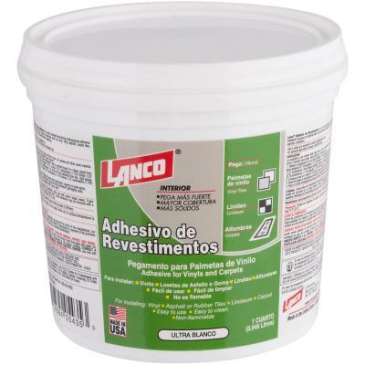 Adhesivo para alfombras y vinilos 1/4 gl