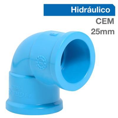 Codo PVC para cementar 25 mm