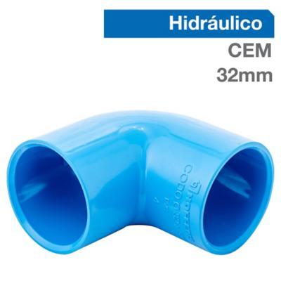 Codo PVC para cementar 32 mm