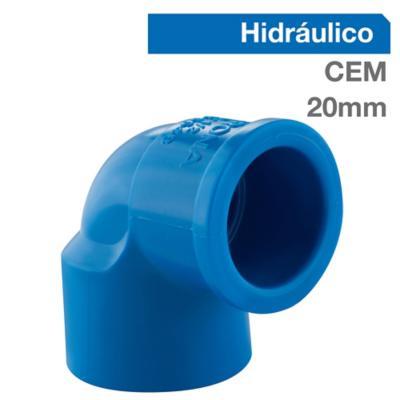Codo 45o PVC-P Cementar 20mm  1u