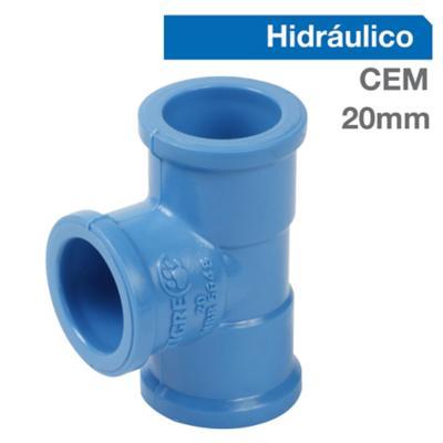 Tee PVC-P Cementar 20MM  1u