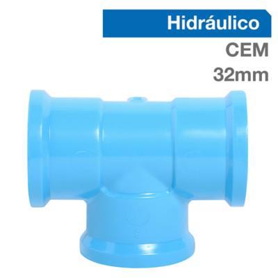 Tee PVC-P Cementar 32MM 1u