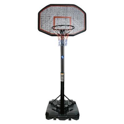 Aro de básquetbol ajustable 200x109x74 cm