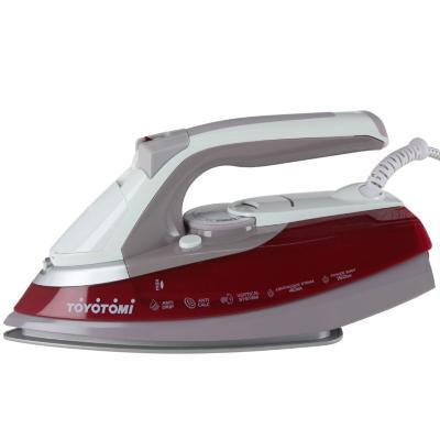 Plancha a vapor 2200 W rojo