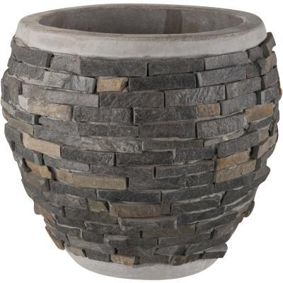 Macetero de cerámica 26x24 cm