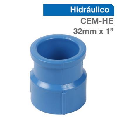 """Terminal PVC para cementar 1"""" 32 mm"""