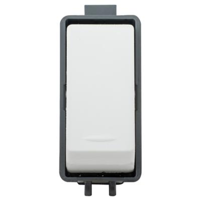 Módulo interruptor 9/24 10 A Blanco Genesis