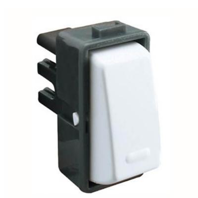 Modulo interruptor 9/12 10 A Blanco Genesis