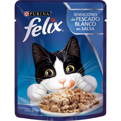 Alimento húmedo para gato adulto 85 g pescado