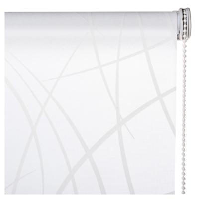 Cortina enrollable Líneas 135x190 cm blanco