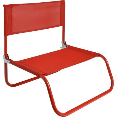Silla Playa Beach Text Rojo