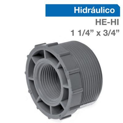 """Buje Reducción PVC-P HE/HI 1 1/4"""" x 3/4""""  1u"""