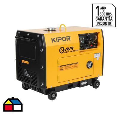 Generador diesel insonorizado 5.000W