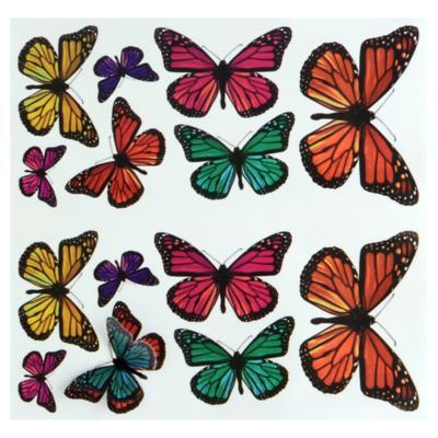Sticker decorativo mariposas 3D 26 unidades
