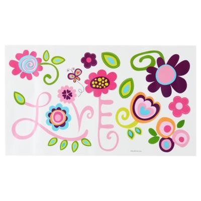 Sticker decorativo amor, paz y alegría 13 unidades