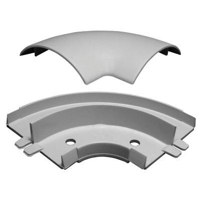 Ángulo plano para moldura 60x13 mm