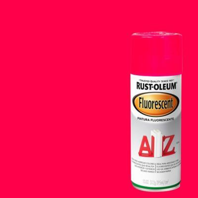 Pintura en spray fluorescente 340 gr rosado