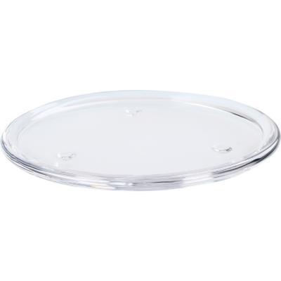 Plato para velas 16 cm transparente