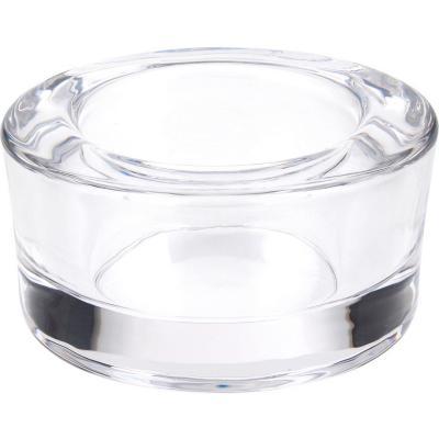 Portavela 6,6 cm transparente