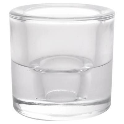 Portavela tealight 5,7 cm transparente