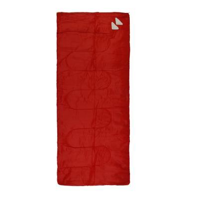 Saco de dormir recto rojo