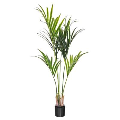 Palmera kentia artificial 132 cm con macetero