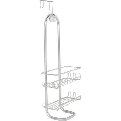 Organizador de ducha metal plateado