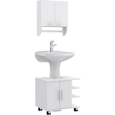 Combo Botiquín 28 + mueble bajo lavamanos
