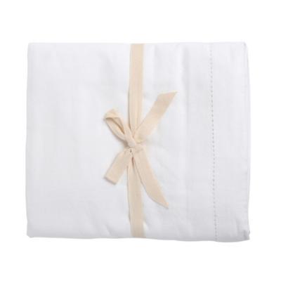 Mantel 160x230 cm algodón blanco