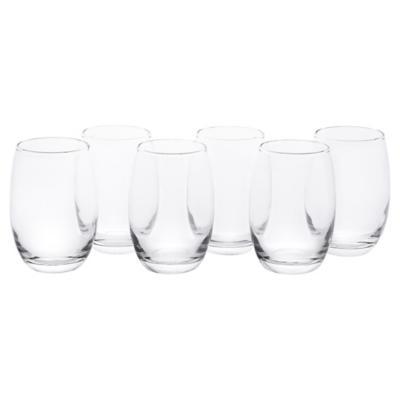 Set Vasos de Vidrio 460 cc 6 Unidades