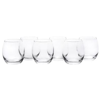 Set Vasos de Vidrio 343 cc 6 Unidades