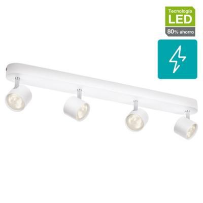 Foco LED 4 luces 4 W