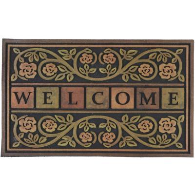 Limpiapiés Welcome 55x90 cm