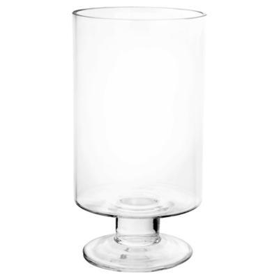 Florero 28x15 cm vidrio transparente