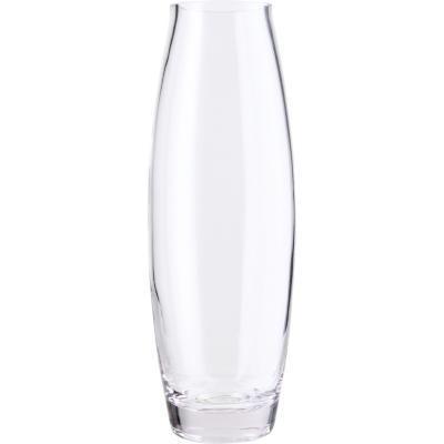 Florero 30x10,5 cm vidrio transparente