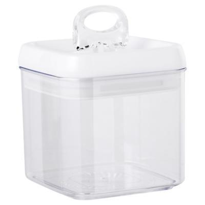 Contenedor de alimentos acrílico 1 litro x12,8x0 cm