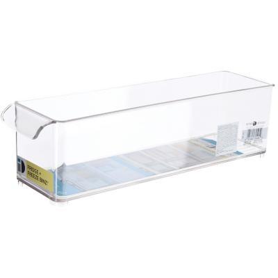 Organizador para freezer 37x10x10 cm acrílico transparente