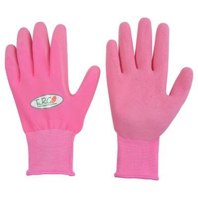 Guantes de látex rosado