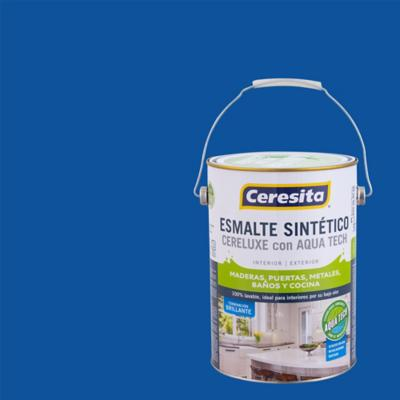 Esmalte Sintetico Cereluxe Aquatech Azul Pacific 1 gl