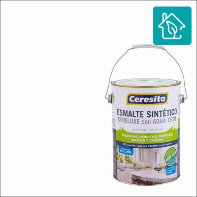 Esmalte Sintetico Cereluxe Aquatech Blanco 1 gl