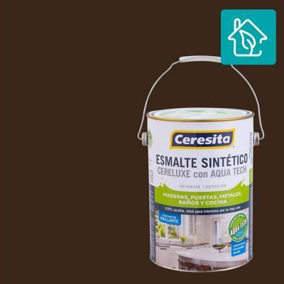 Esmalte Sintetico Cereluxe Aquatech Café Moro 1 gl
