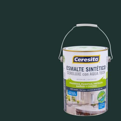 Esmalte Sintetico Cereluxe Aquatech Verde Reja 1gl