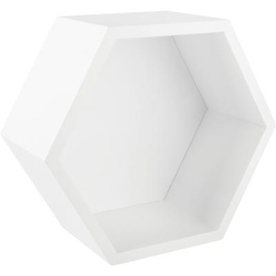 Repisa MDF 27x23 cm blanco