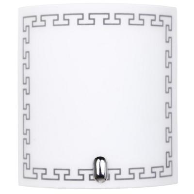 Apliqué Inca vidrio blanco