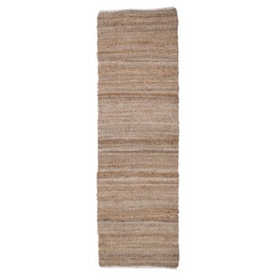 Alfombra pasillo jute 70x240 cm natural