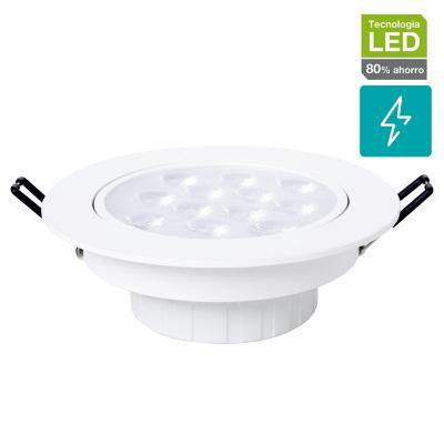 Foco SMD empotrado LED 12 W