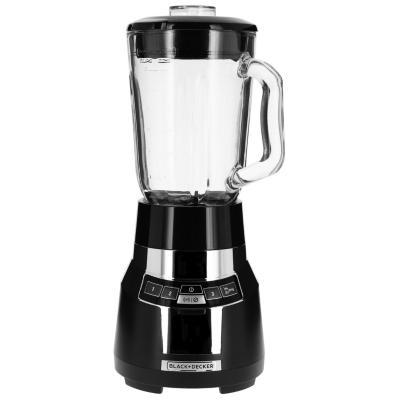 Licuadora vidrio 1,5 litros negro